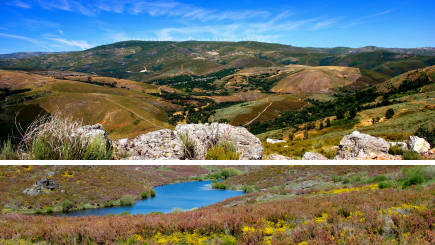 Natural Parks in Portugal. Photos by wikimedia.org