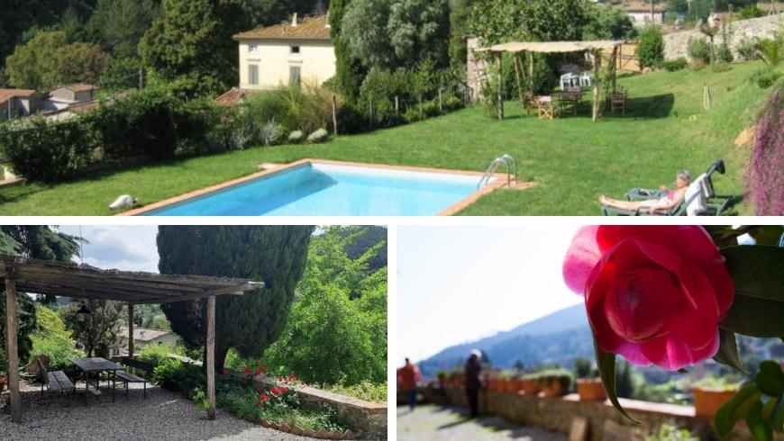 organic farm in Lucca, Tuscany