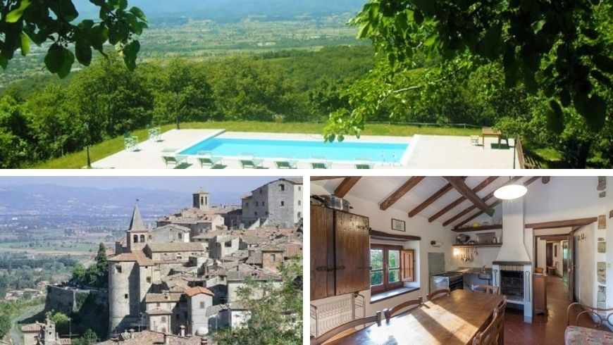 best located organic farm in tuscany