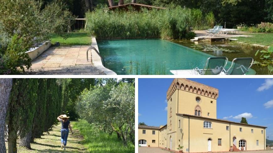 sustainble accommodation in tuscany