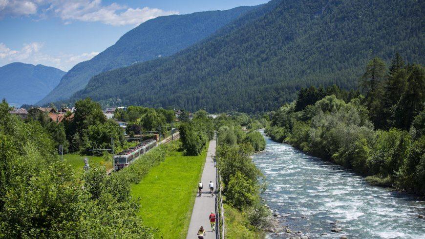 Bike route near Dimaro Folgarida