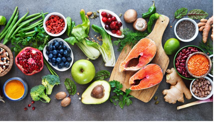 Organic and local food