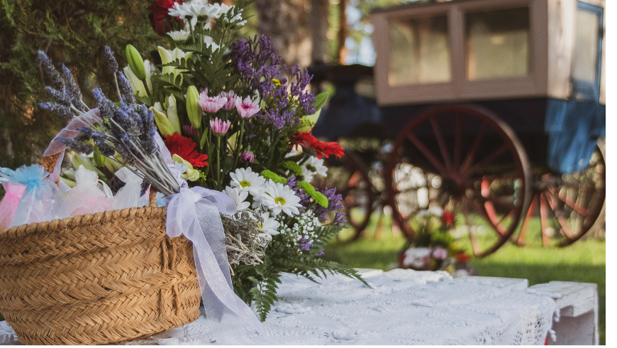 Location: a bucolic setting for your eco-chic wedding