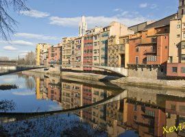 Different places of Girona