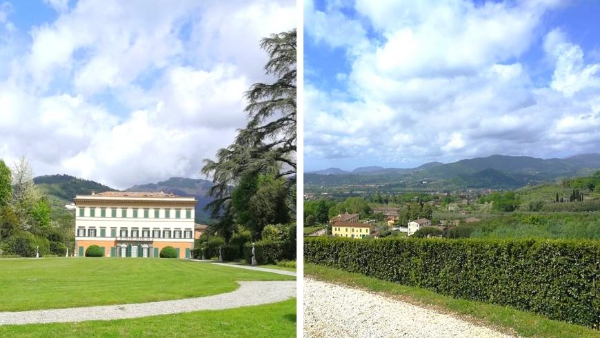verdant itineraies of villa reale