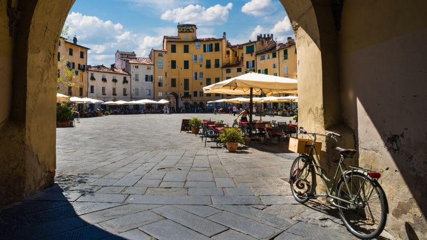 Bikes in Lucca