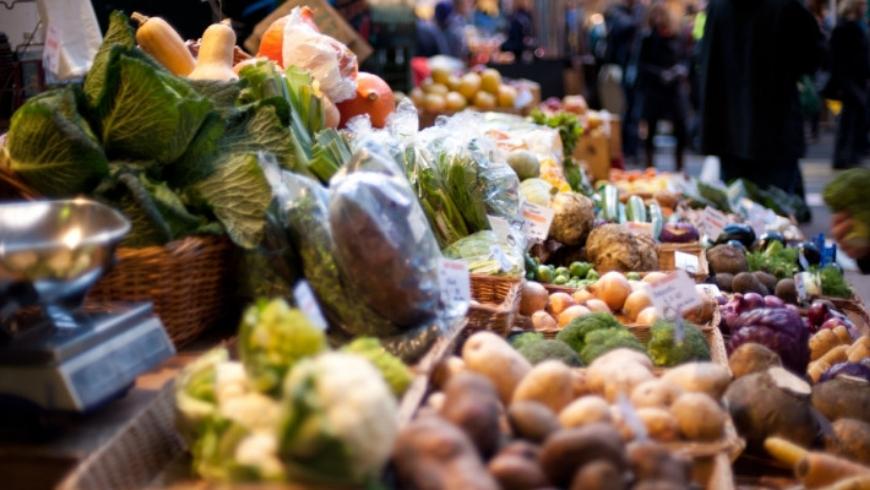 Farmer market in versilia