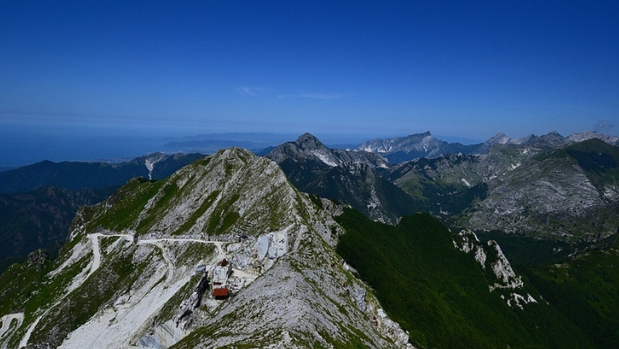 green versilia itinerary in the mountains