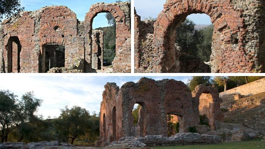 green areas in versilia, the roman ruins