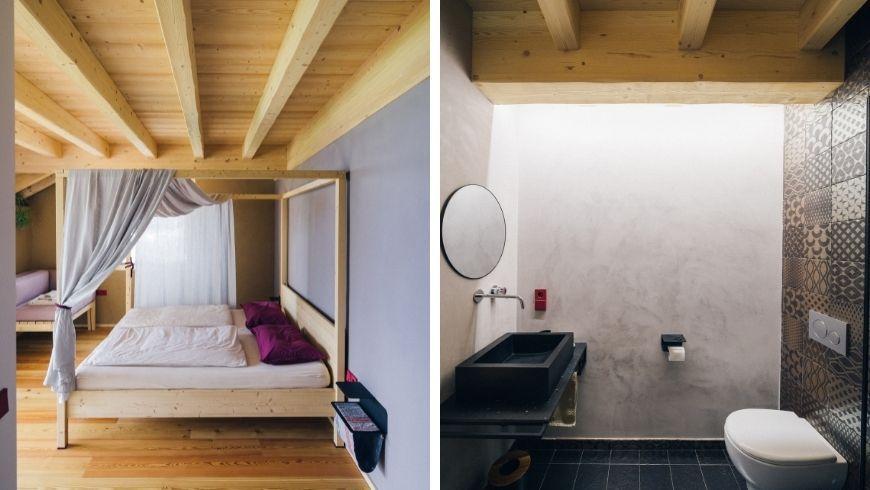 BLUM farmhouse: bedrooms
