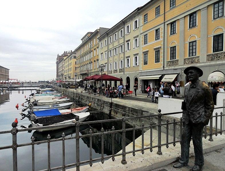 James Joyce's statue in Trieste