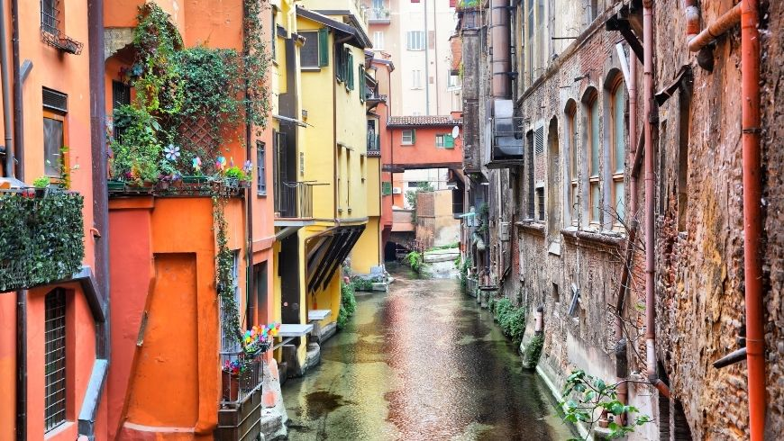 Canals of Bologna