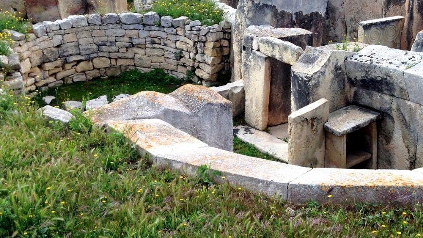 Temples of Ggantija in Gozo