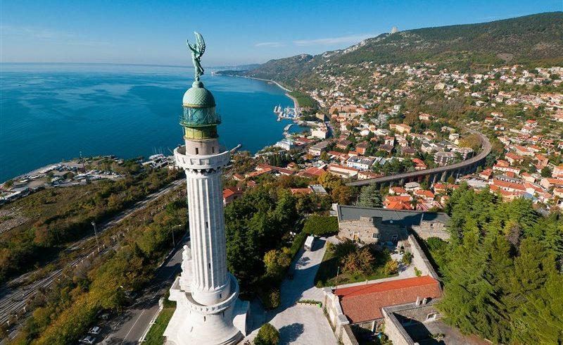Vittoria Lighthouse near Trieste