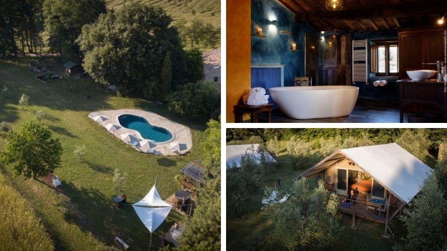 Eco hotel in Maremma, Italy
