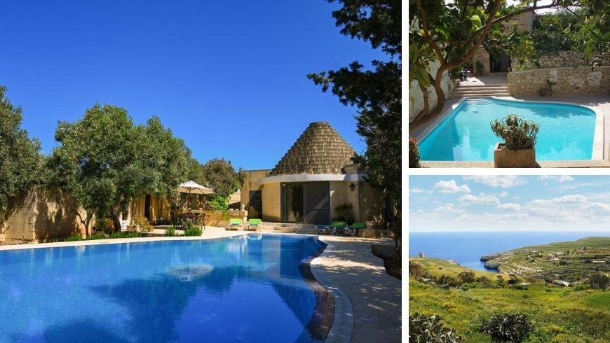some of ecofriendly accommodation of Gozo