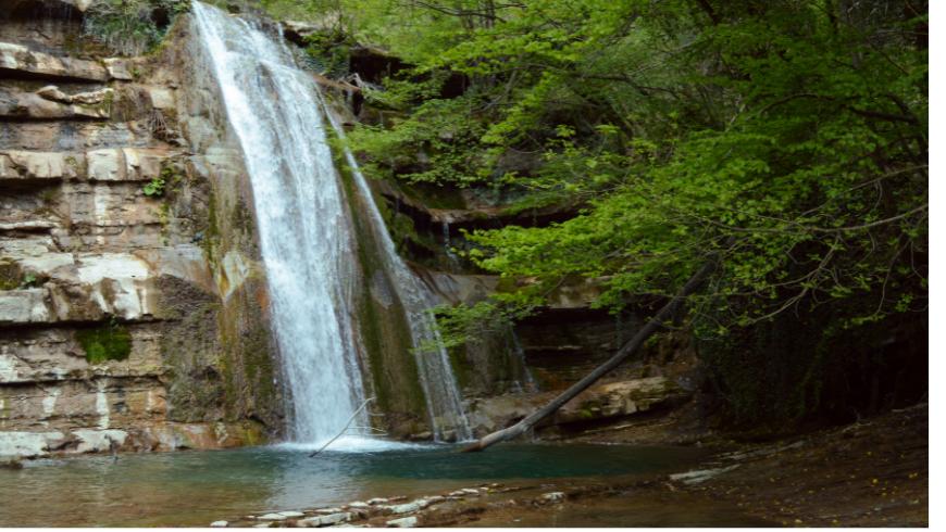 Acquacheta Waterfall