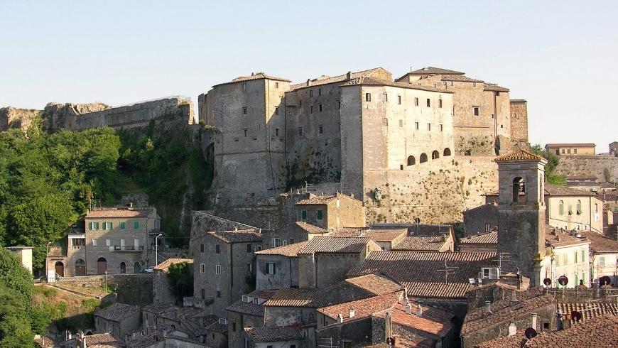 Orsini Fortress in Sorano