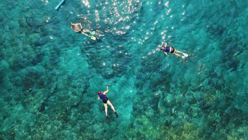 Diving in Miramare Castle