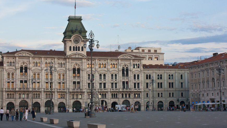 Unità d'Italia square in Trieste