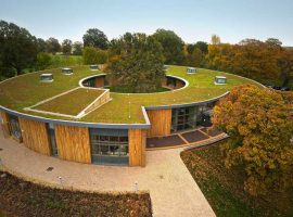 British Horse Society Headquarter and Green Roof