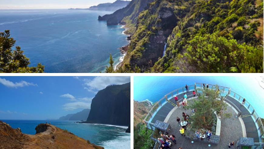 Miradouros Madeira. Photos by visitmadeira.pt, pinterest.it