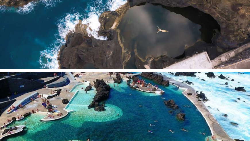 Natural Pools, Madeira. Photos by digitaltravelcouple.com and madeira.best