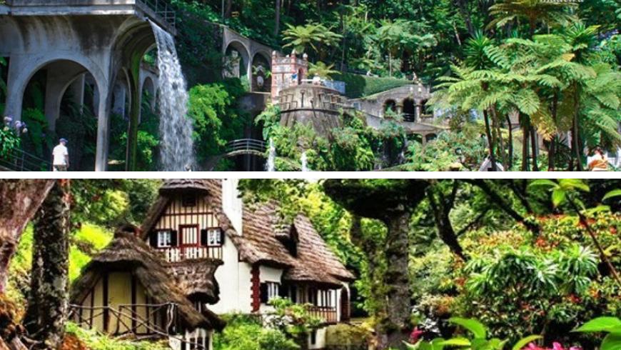 Parks and Gardens, Madeira. Photos by madeira.best and helloguidemadeira.com