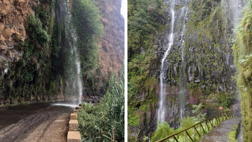 Waterfalls, Madeira. Photos by tripadvisor.com and Flickr.com