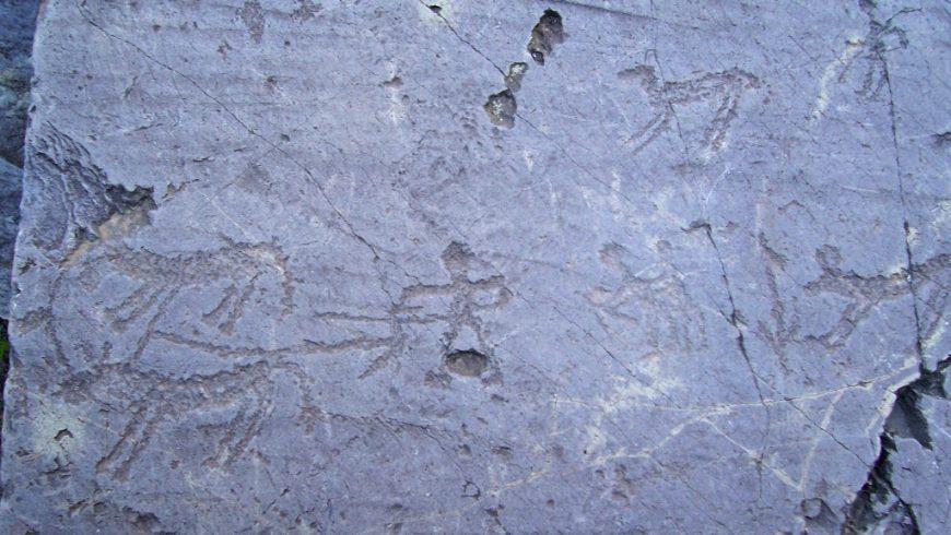 Rock engravings in Val Camonica