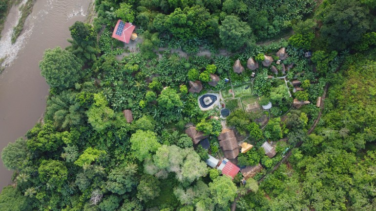 Reconnect with nature in the Colombian jungle