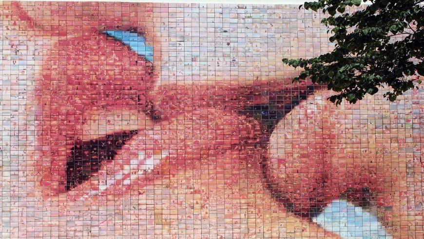 Local street art in Barcelona