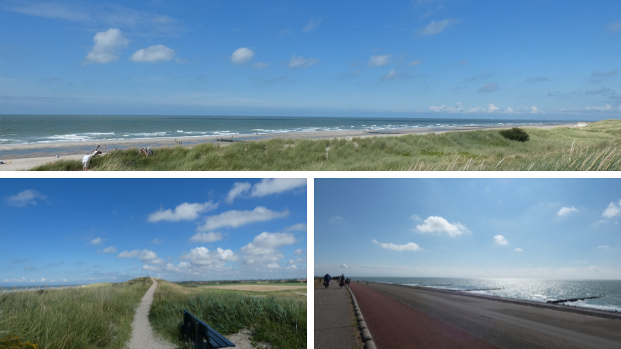 Natural beaches Zeeland. Photos by Irene Paolinelli