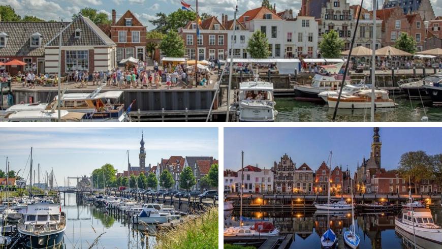 Veere. Photos by Zeeland.com, reisgenie.nl and clubracer.be