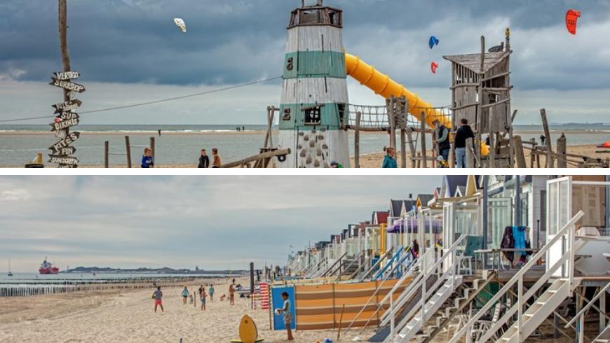 Beaches for families. Photos by Zeeland.com