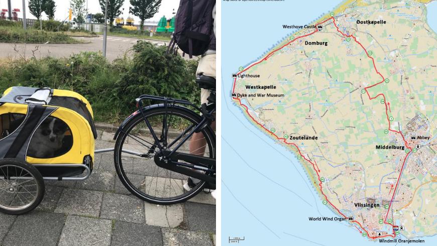 Biking in Zeeland. Photos by Irene Paolinelli