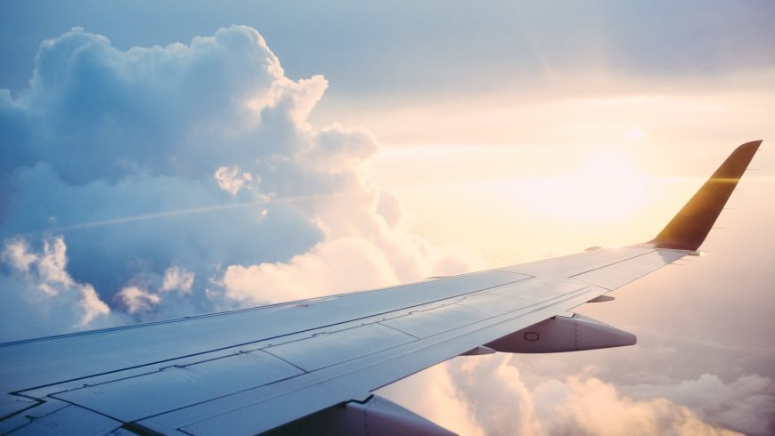 travelling by airplane is one of the Mistakes That Can Increase, Not Decrease Your Carbon Footprint