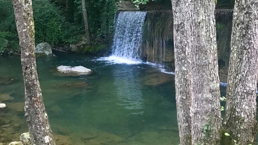 parque nacional del pollino-cascada